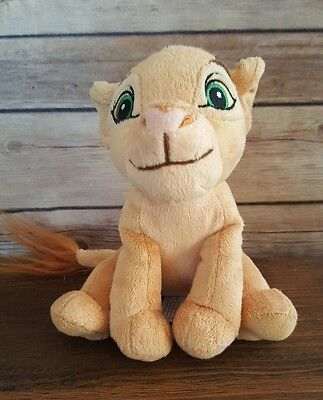 Walt Disney The Lion King Simba Soft Plush Stuffed Animal Kids Toy Lovey