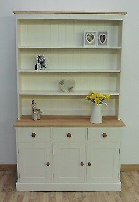 New Solid Pine&Oak 4ft Painted Welsh dresser/dining/kitchen unit any F&B colour