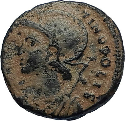 CONSTANTINE I the GREAT Founds Constantinople Original Ancient Roman Coin i67763
