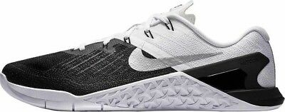 Nike Metcon 3 Mens Size CrossFit Training Shoe Black White Silver New  852928 005