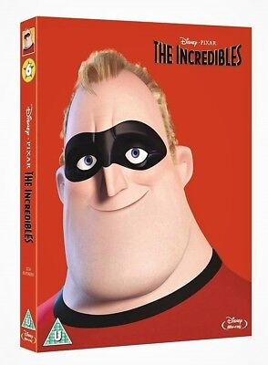 THE INCREDIBLES [Blu-ray Disc] (2004) Disney Pixar Animated Movie w/ Slipcover