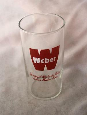 Vintage Weber Beer Glass - 4-1/2 Inches High