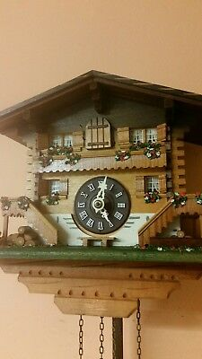 VINTAGE GERMAN  CUCKOO CLOCK   / Fully  Servised /Perfect Working Order