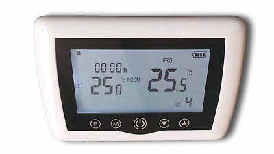 digital radio Thermostat ambiant programmable, touchkey série : Top #A46