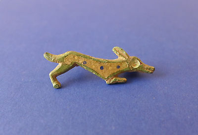 Roman Running Dog Brooch 2nd-3rd Century AD Fully Enamelled