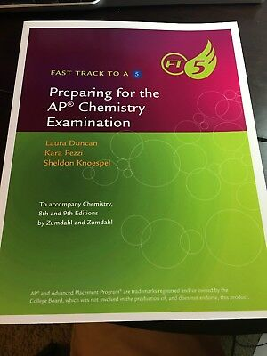 Fast Track To A 5 Zumdahl Preparing for the AP Chemistry 8th and 9th Edition