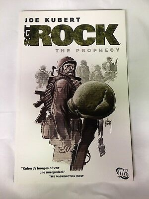 Joe Kubert Sgt. Rock The Prophecy Dc Comics 2007 Mint Our Army At War