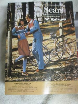 Vintage SEARS Catalog 1976 Fall & Winter- Ship Priority under $10