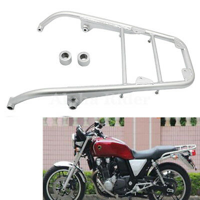 Rear Luggage Rack Touring Carrier for Honda CB1100 2011 - 2016 12 15 16 Silver