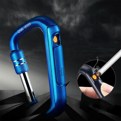 Atomic Electronic USB Lighter Flameless Dual Arc Plasma Rechargeable Windproof