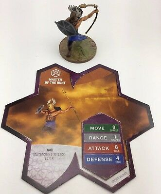Heroscape Master Of The Hunt Moltenclaw's Invasion