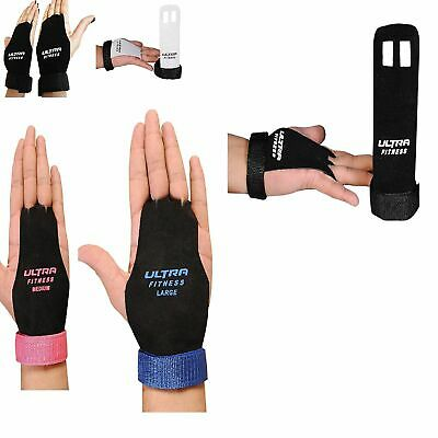 Crossfit Leather Grips Gymnastic Palm Protectors Hand Guards Gym Gloves Pull up