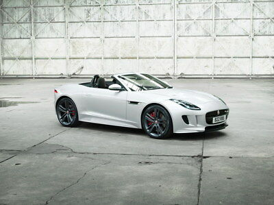 "033 Jaguar - F-TYPE XE XJ XFL Super Racing Car 18""x14"" Poster"