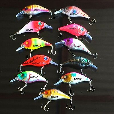 Bream Fishing Lures Murray Cod Bass Jack Flathead Yellowbelly Saltwater Lure