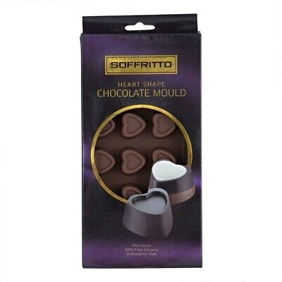 Soffritto Professional Bake Chocolate Mould Heart Brand New