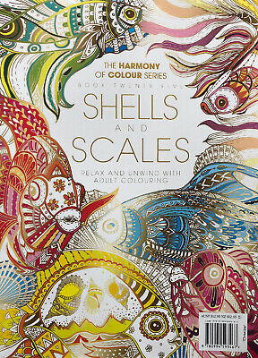 Harmony of Colour: Book 40 SNAKES AND LIZARDS Adult Colouring 36 Designs -NEW