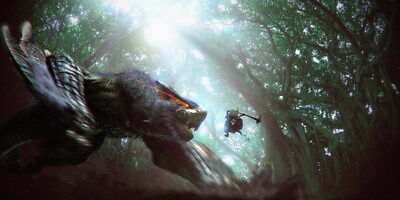 """022 Monster Hunter - Moster Fight Game 28""""x14"""" Poster"""