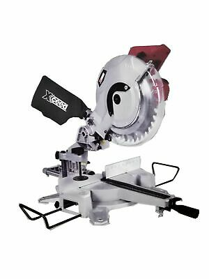 Sliding Compound Mitre Saw 250mm Xceed 1800W Laser guided Compund Saw