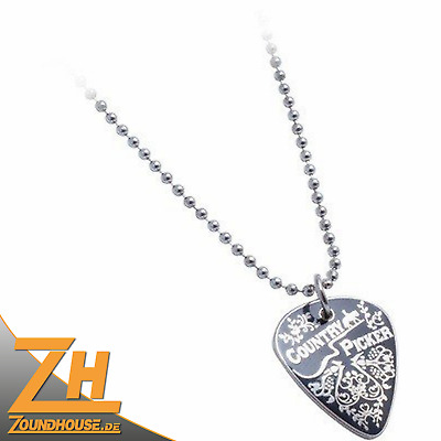 """Fender Styleworxs Chain Necklace, """"Country Picker"""""""