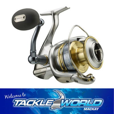 Shimano Biomaster SW 10 000HG Spinning Fishing Reel TACKLE WORLD MACKAY