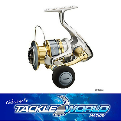 Shimano Biomaster SW 5000HG Spinning Fishing Reel TACKLE WORLD MACKAY