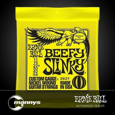 Ernie Ball 2627 11-54 Yellow Beefy Slinky Nickel Wound Electric Guitar Strings