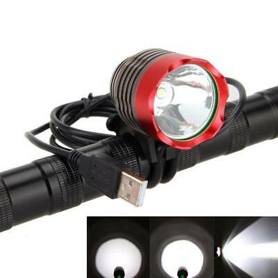 3000lm Cree Xm-l T6 Led Usb Light Waterpoof Mtb Bike Front Lamp Light Bicycle
