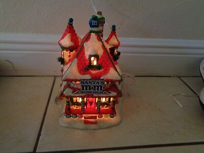 Dept 56 North Pole Santa's M & M Workshop Limited Edition Rare