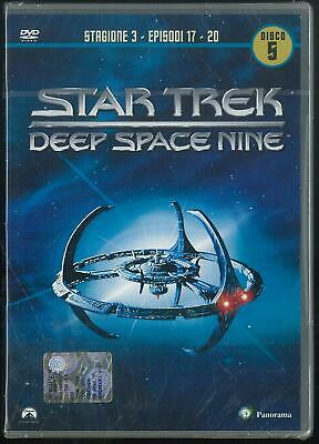 Star Trek Deep Space Nine Stagione 3 Episodi 17-20 Disco 5 Dvd Nuovo Sigillato