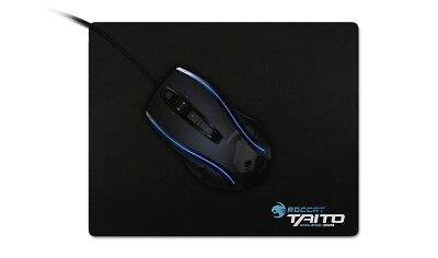 ROCCAT Taito Mini-Size 3mm Shiny Black Gaming Mousepad Mauspad Nano