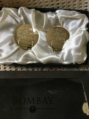 Bombay Company Babies First Tooth & Curl Silver Box
