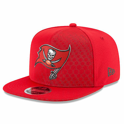 NFL Tampa Bay Buccaneers 2017 Official Color Rush 9FIFTY Snapback Cap Unisex