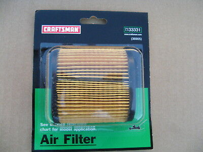 Air Filter Tecumseh 36905 - Toro / Craftsman