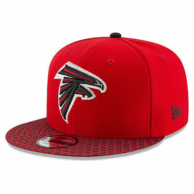 NFL Atlanta Falcons Official 2017 On Field New Era 9FIFTY Snapback Cap Unisex
