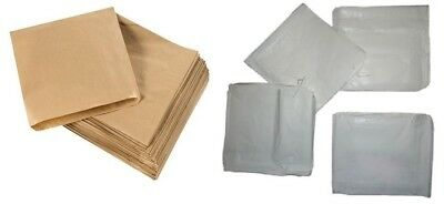 Brown / White / Grease proof Paper Bags Food Kraft Grocery Gift Bags