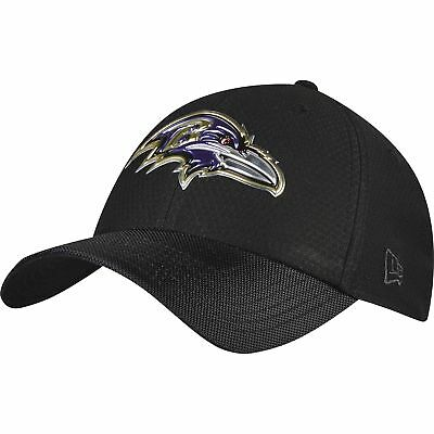NFL Baltimore Ravens London Games 2017 Black Collection 39THIRTY Stretch Fit