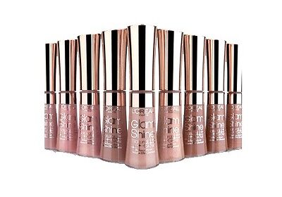 L'Oreal Glam Shine Lip Gloss Natural Glow - CHOOSE YOUR SHADE
