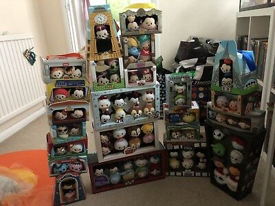 Bundle Job Collection Lot Of Boxed Offical Disney Store Tsum Tsum