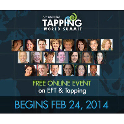 EFT-Tapping World Summit 2014 [Hypnosis NLP Audio Tutorial Guide Course]