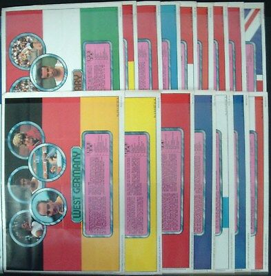 A&bc-Full Set- Olympic Posters (E16 Posters) - Exc