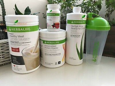 Herbalife Formula 1 Shake Any Flavor,protein,ready Aloe Tea Free Shipping