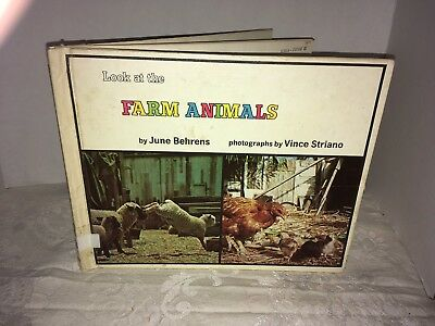 1971 Look At The Farm Animals By June Behrens (lot26)