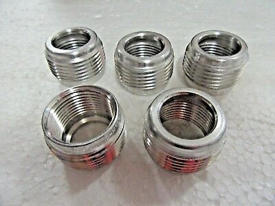 "Lot of 5 Crouse Hinds RE32-SA Explosion-Proof Reducing Bushing 1""-3/4"" Reducer"