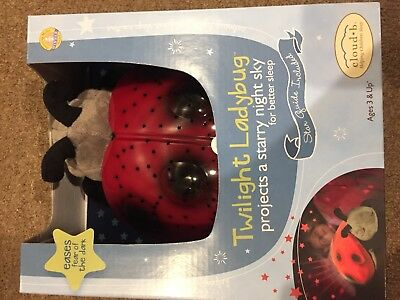 CloudB Twilight LadyBug in RED - Brand New. Great Gift idea!