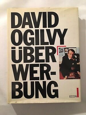 David Ogilvy Über Werbung Econ Verlag 1984 Ogilvy on Advertising