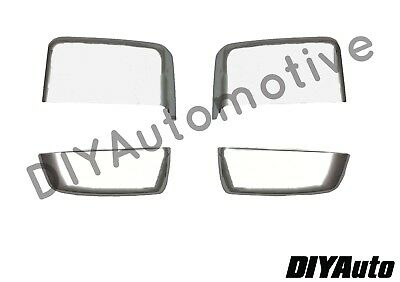 2014-2019 Style Chevy Silverado GMC Sierra Chrome GM Tow Mirror Cap Cover NEW