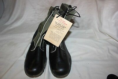 US Military Vietnam Addison Spike Protective Jungle Combat Boots GENESCO 12 Wide