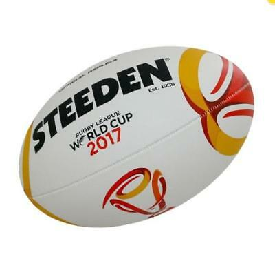 Rugby League World Cup Mini Ball (11 Inch) by Steeden