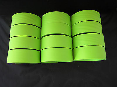 24 Rolls 150 ft Lime Green Flagging Tape Surveyor Ribbon