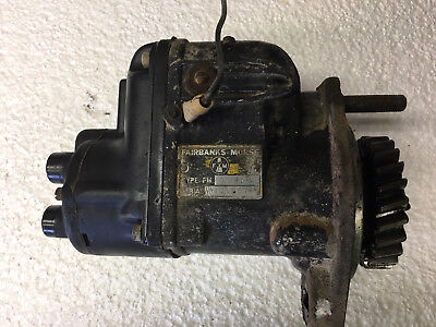 Wisconsin VF4D Magneto (Parts)